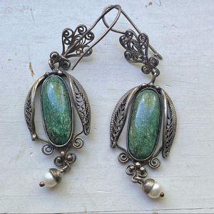Beautiful vintage drop earrings